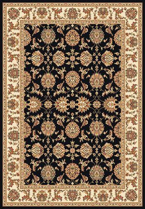 Kas Cambridge 7313 Black/Ivory Area Rug