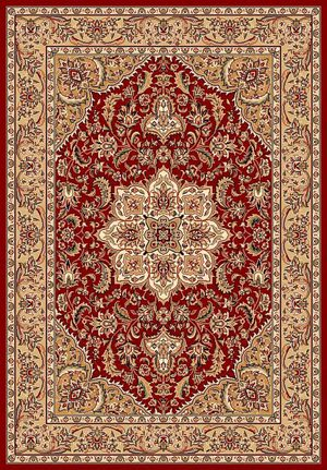 Kas Cambridge 7326 Red/Beige Area Rug