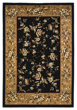 Kas Cambridge 7336 Black/Beige Area Rug