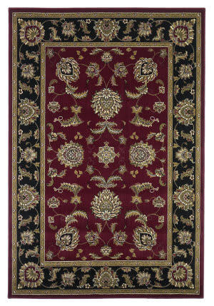 Kas Cambridge 7342 Red/Black Area Rug