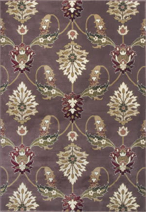 Kas Cambridge 7363 Plum Area Rug