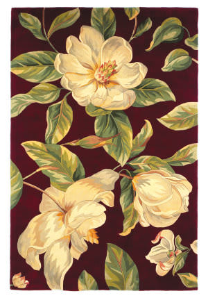 Kas Catalina Magnolia 760 Ruby Area Rug