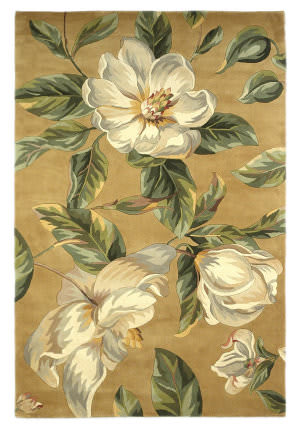 Kas Catalina Magnolia 762 Gold Area Rug