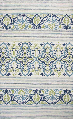 Kas Donny Osmond Home Escape 7900 Blue Area Rug