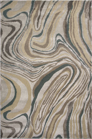 Kas Donny Osmond Home Timeless 8010 Silver Area Rug