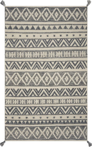 Kas Hang Ten Malibu 852 Grey Area Rug