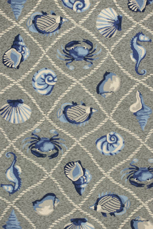 Kas Harbor 4219 Grey Area Rug