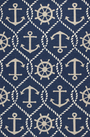 Kas Harbor 4220 Navy Area Rug