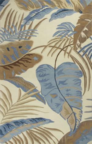 Kas Havana 2624 Ivory / Blue Area Rug