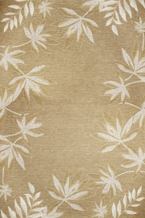 Kas Horizon 5706 Sage Fern Border Area Rug