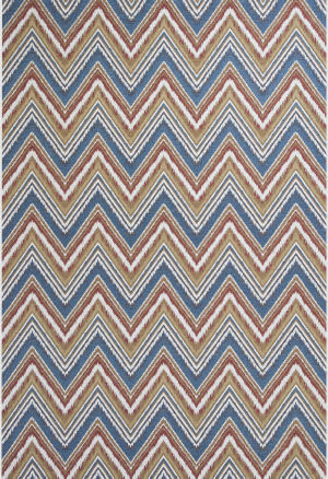 KAS Horizon 5723 Multi Chevron Area Rug