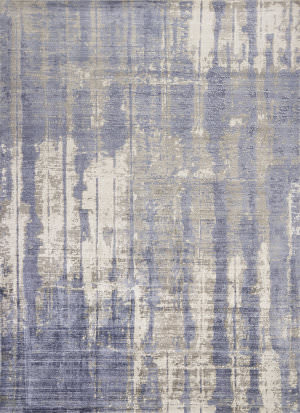 Kas Indulge 0802 Grey - Blue Area Rug