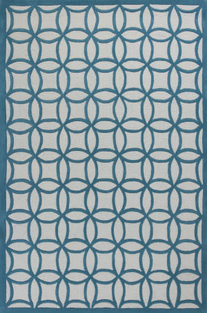 KAS Kidding Around 440 Teal Kaleidoscope Area Rug