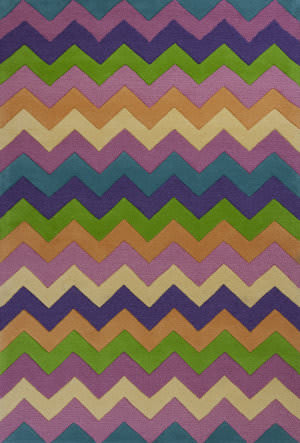KAS Kidding Around 443 Chic Ziggy Zaggy Area Rug