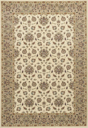 Kas Kingston 6407 Ivory-Beige Area Rug