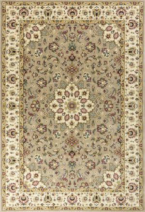Kas Kingston 6413 Beige-Ivory Area Rug