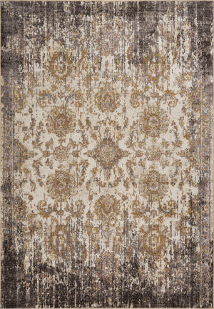 Kas Manor 6316 Ivory - Taupe Area Rug