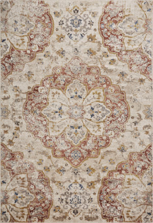 Kas Manor 6350 Ivory Area Rug
