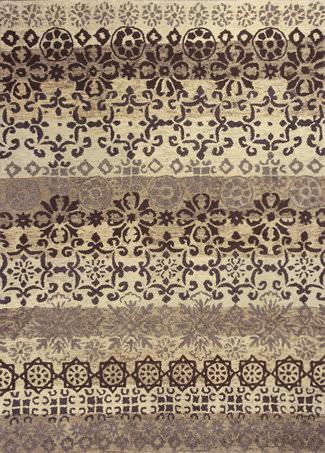 Kas Marrakesh 4512 Ivory / Slate Area Rug