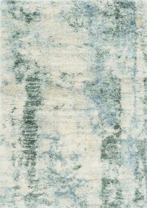 Kas Merino 6704 Ivory-Blue Area Rug