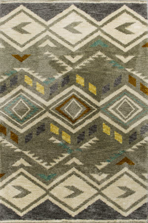 Kas Mission 4457 Grey Area Rug