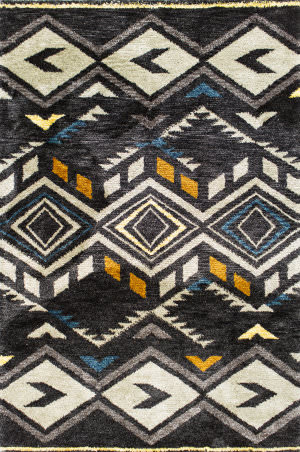 Kas Mission 4458 Midnight Area Rug