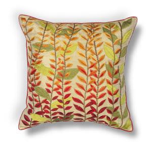 Kas Leaves Pillow L172 Autumn