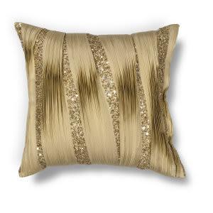 Kas Ruffles Pillow L181 Gold