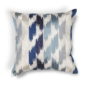 Kas Watercolors Pillow L206 Blue