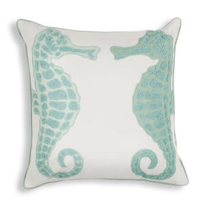 Kas Pillow L267 Aqua