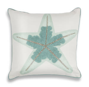 Kas Pillow L272 Aqua