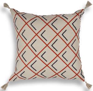Kas Pillow L416 Tangerine Area Rug