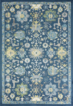 Kas Skyline 6415 Teal Area Rug