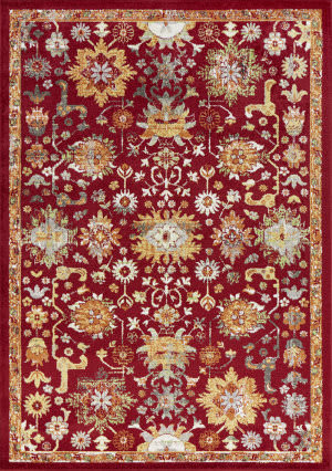 Kas Skyline 6420 Red Area Rug
