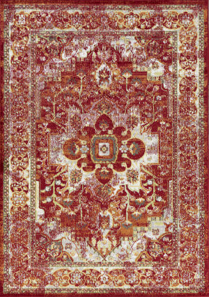 Kas Skyline 6430 Red Area Rug