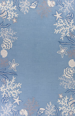 Kas Sonesta 2024 Sea Blue Area Rug