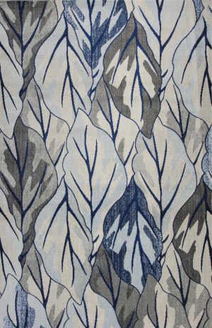 Kas Stella 6251 Grey - Navy Area Rug