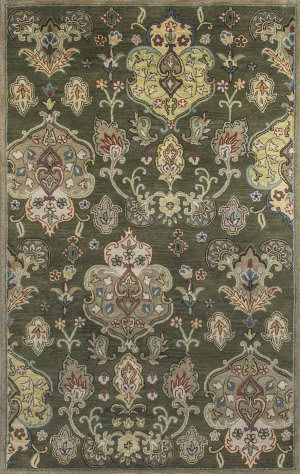 KAS Syriana 6026 Olive Tapestry Area Rug