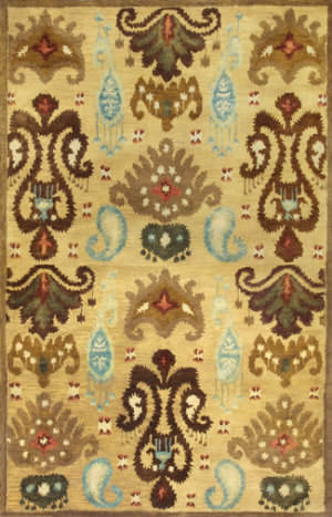Kas Tapestry 6812 Gold Area Rug