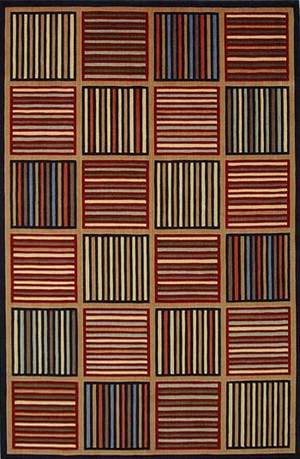 KAS Tate Grid 8501 Multi Area Rug