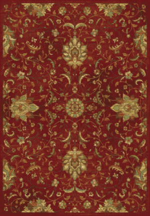 Kas Versailles 8540 Red Area Rug