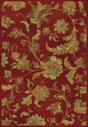 Kas Versailles 8553 Red Area Rug