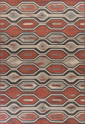 Kas Vista 5800 Rust Area Rug