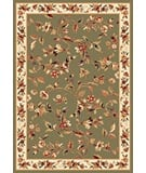 Kas Cambridge 7332 Sage/Ivory Area Rug