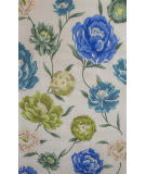 KAS Catalina 752 Ivory Floral Oasis Area Rug