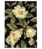Kas Catalina Magnolia 761 Black Area Rug