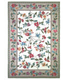 Kas Colonial Floral Vine Ivory 1707 Area Rug