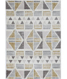 Kas Elements 6551 Ivory - Gold Area Rug