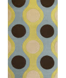 Kas Eternity 1090 Light Blue/Citron Area Rug