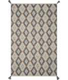 Kas Hang Ten Malibu 850 Slate - Beige Area Rug